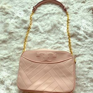 Tory Burch bag, light pink, perfect condition